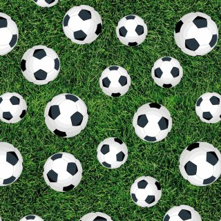 Kids Everyday Wrapping Paper 3m - Footballs
