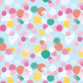 Everyday Wrapping Paper 3m - Multicolour Dots