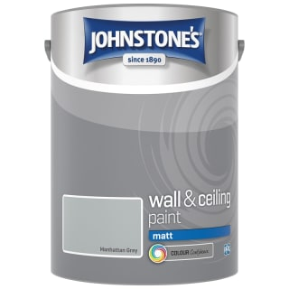 Johnstone's Paint Vinyl Matt Emulsion - Manhattan Grey 5L