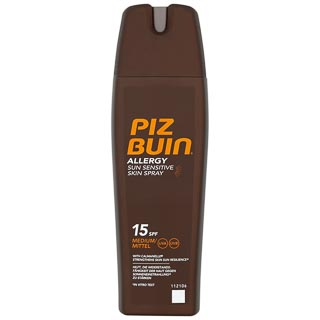 Piz Buin Allergy Sun Cream Spray Factor 15 200ml