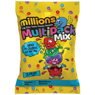 Millions Multipack Mix Fun Size Bags 7pk