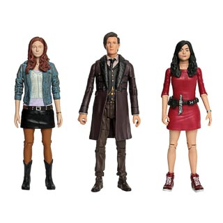 "Doctor Who 5.5"" Figures - 11th Doctor Set"