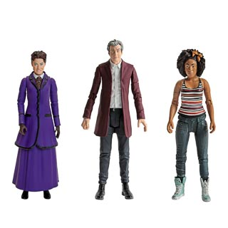 "Doctor Who 5.5"" Figures - 12th Doctor Set"