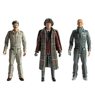 "Doctor Who 5.5"" Figures - 1970s Doctor Set"