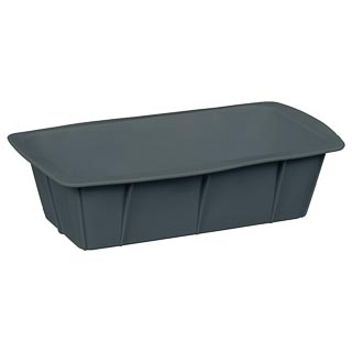 Silicone Loaf Pan - Grey