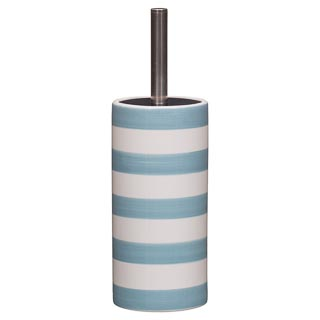 Stripe Toilet Brush & Holder