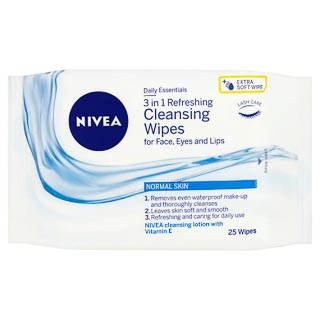 Nivea Facial Cleansing Wipes 25s