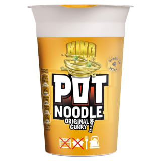 King Pot Noodle Original Curry Flavour 114g