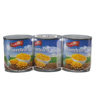 Batchelors Sweetcorn in Water 3 x 180g
