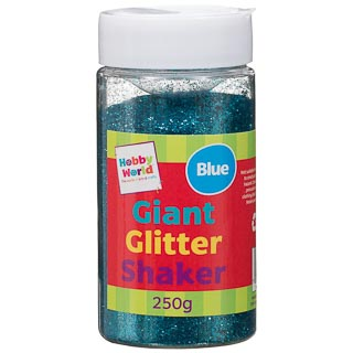 Hobby World Giant Glitter Tub 250ml