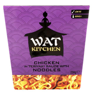 WAT KITCHEN Chicken in Teriyaki Sauce 250g