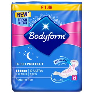 Bodyform Ultra Night 10pk
