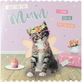 Just For You Mum Greetings Card