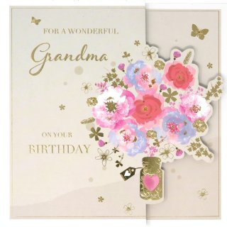 Wonderful Grandma - Birthday Cards
