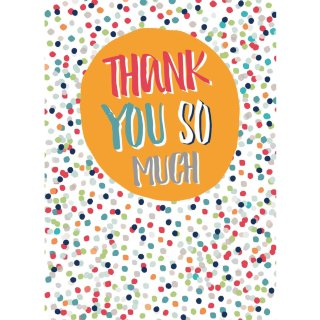 Thank You Cards 6pk