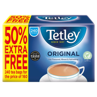 Tetley Original Tea Bags 240pk