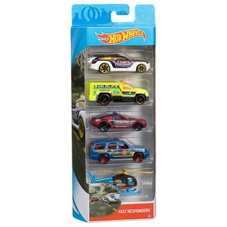 Hot Wheels Diecast Toy Cars 5pk