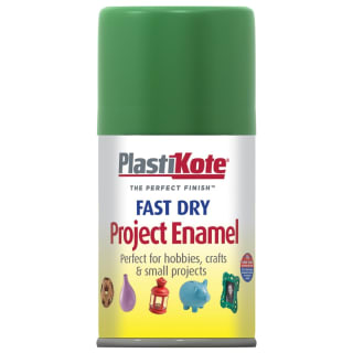 Plastikote Project Enamel 100ml - Garden Green