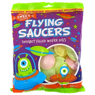 Flying Saucers 58g