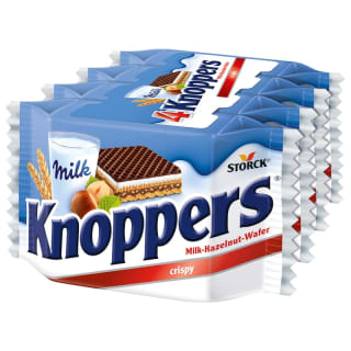 Knoppers Wafers 4 x 25g