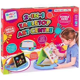Hobby World 2-in-1 Tabletop Art Centre