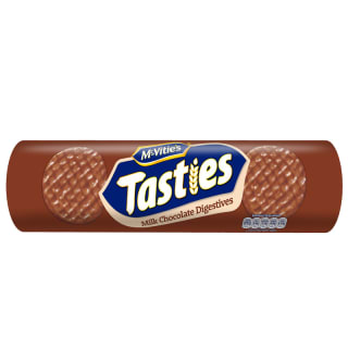McVitie's Tasties Milk Chocolate Digestives 355g