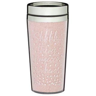 Sparkle Travel Mug - There's Prosecco in Here