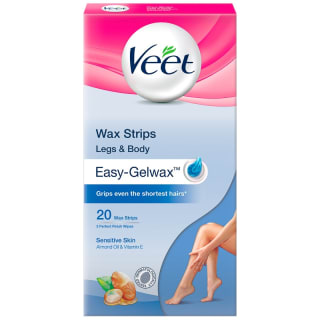 Veet Easy Gelwax Wax Strips 20pk
