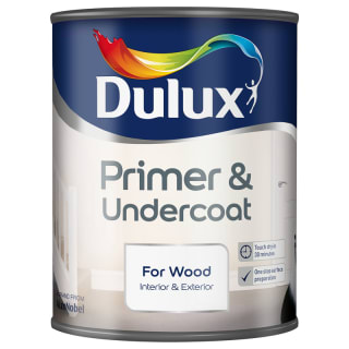 Dulux Primer & Undercoat Paint - For Wood 750ml