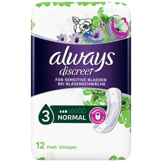 Always Discreet Pads Normal 12pk