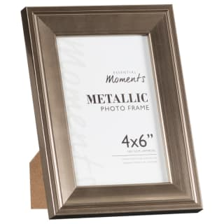 "Metallic Photo Frames 4 x 6"" 2pk"