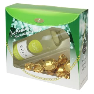 Three Mills White Wine & Chocolates Gift Set