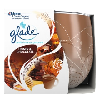 Glade Scented Candle - Honey & Chocolate