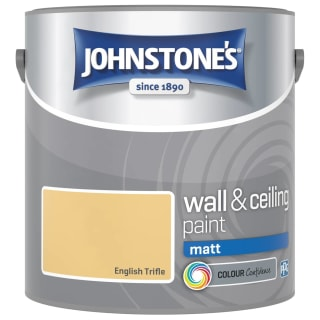 Johnstone's Paint Vinyl Matt Emulsion - English Trifle 2.5L