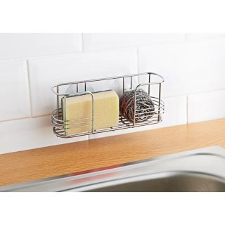 Suction Sink Caddy - Stainless Steel