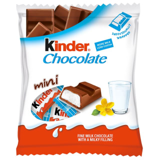 Kinder Mini Chocolate Snack Bars 72g