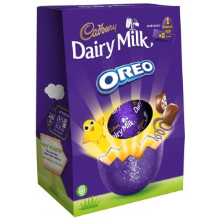 Cadbury Dairy Milk Oreo Large Easter Egg 258g