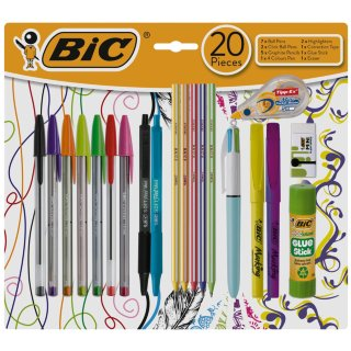 Bic School Set 20pc