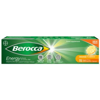 Berocca Orange Energy Vitamin Tablets 15pk