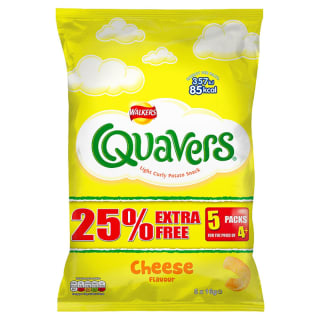 Walkers Quavers 5pk