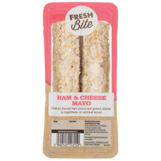 Ham & Cheese Mayonnaise Sandwich