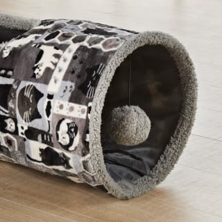 Cat Play Tunnel - Grey