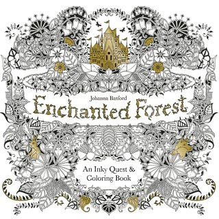 Johanna Basford Colouring Book - Enchanted Forest