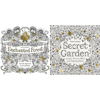 Johanna Basford Colouring Book - Secret Garden