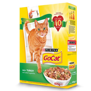 Go-Cat Cat Food - Turkey & Vegetables 825g