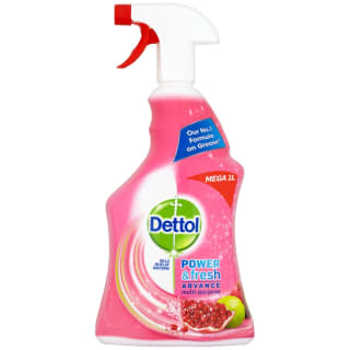 Dettol Power Spray - Pomegranate & Lime Splash 1L