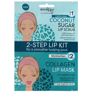 Derma V10 2-Step Lip Treatment - Coconut