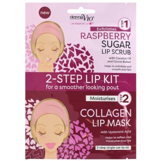 Derma V10 2-Step Lip Treatment - Raspberry