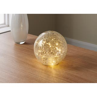 30 LED Small Crackle Ball