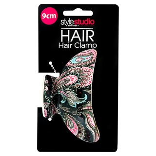 Style Studio Claw Hair Clamp - Paisley